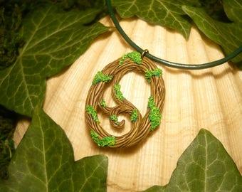 Rootmagic Amulet - handcrafted Pendant