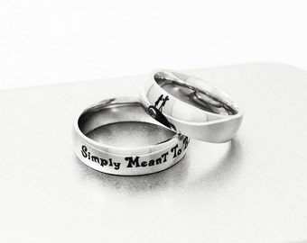 jack sally engagement ring simply meant to be ring couple ring geek - Nightmare Before Christmas Wedding Rings