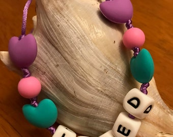 Loved NecklaceChew - Silicone teething/nursing necklace