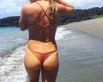 AKAKA Scrunch Bikini Bottoms
