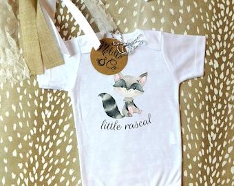 Raccoon Onesie®,Baby Shower Gift,Baby Girl Gift,Baby Onesie®,Funny Animal Onesie®,Cute Baby Onesie®,Funny Baby Onesie®,Baby Boy Gift