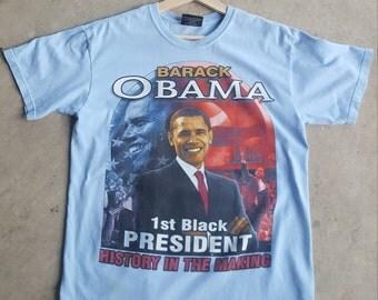 08 Obama T-shirt - Medium