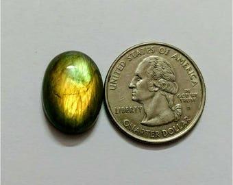 19 x 14.25 mm,Ovel Shape Labradorite Cobochon/Green Flash/wire wrap stone/Super Shiny/Pendant Cabochon/Semi Precious Gemstone/labradorite