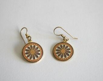 Laurel Burch Anne's Flower Earrings