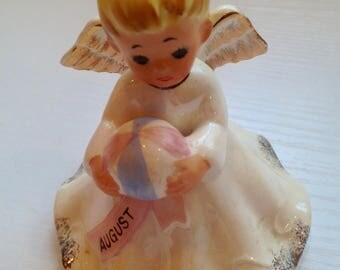 Vintage Norcrest August Birthday Angel