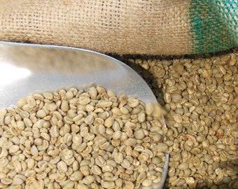 Green Coffee Beans - Indonesia - Sumatra Mandheling - Permata Gayo Gr 1. - Organic - RFA - Unroasted - 3-25lbs