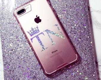 Glitter Initial Google Pixel XL Google Pixel LG Huawei Nexus Samsung S6 Edge Plus Galaxy S7 Edge Galaxy Note S5 Samsung S8 PLUS iPhone case