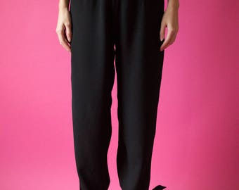 High Waist Bow Pants - Size M