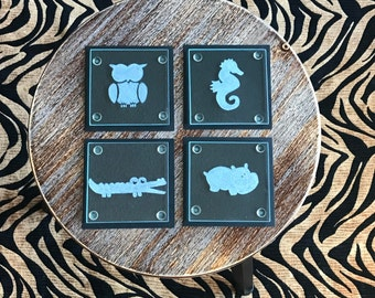 Cute Critters Coasters