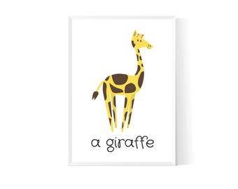Nursery animal wall| Animal nursery print| Safari nursery decor| Nursery animals| Woodland animals| Animals nursery art| Nursery art prints