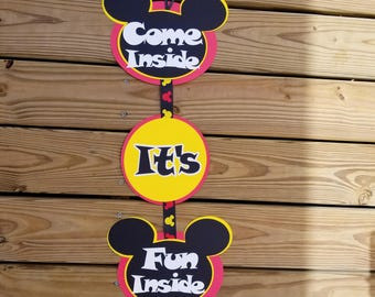 Sign. Come Inside It's fun inside.