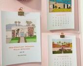 2018 Palm Springs Mid-Century Modern House Calendar