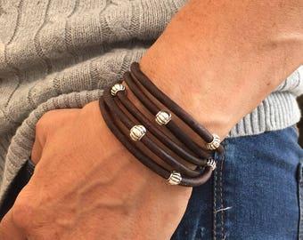 Boho bracelets, boho jewelry, wrap bracelet, beaded bracelet, Bracelets, birthday gift, gift for her, leather bracelet