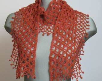 If on a summer's night... merino wool scarf