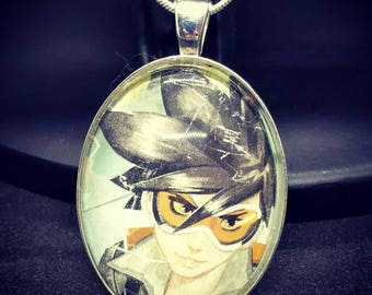 Overwatch Tracer Large Pendant