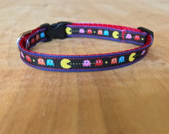 Pac-Man Extra Small Dog Or Cat Collar