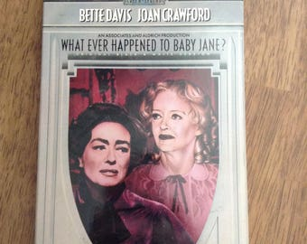 What Ever Happened to Baby Jane? (1962) VHS