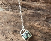 Desert bloom necklace // turquoise necklace // jewelry  // pendant //   adornedkellysstudio