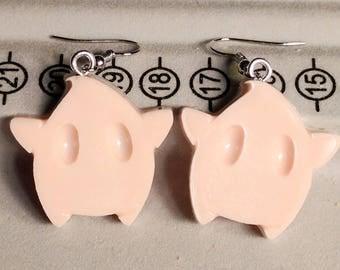 Luma Earrings - Star Earrings - Light Pink Earrings - Gamer Earrings - Mario Earrings