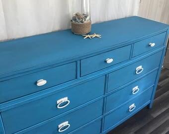 Beautiful Shocking Blue Dresser