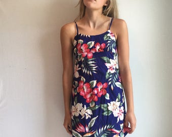 Made in Hawaii Floral Sundress XS