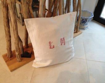 top sheet in metis linen pillow case