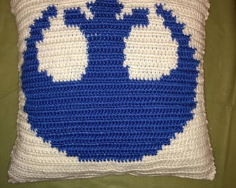 Star Wars Inspired Rebellion Throw Pillow