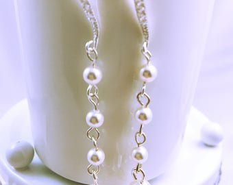 Wedding Pearl Earrings Pearl / wedding pearls Earrings