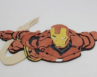 Wooden Iron Man