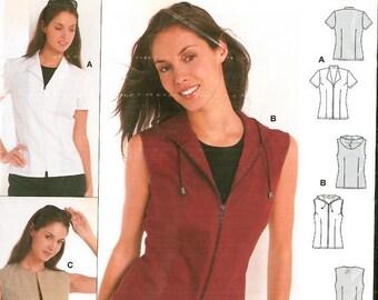 BURDA pattern short sleeve top