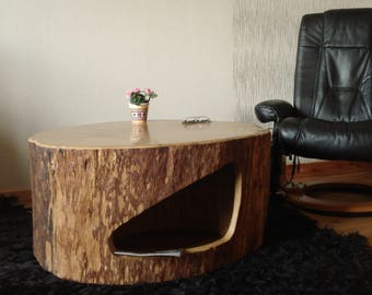 Tree trunk - coffee table