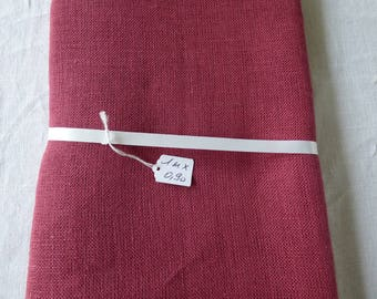 Red yarn or 6 points per inches 12 linen cutting coupon