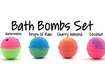 Bath Bomb Set | Bath Bomb Gift Set | Bath Bombs for A Week