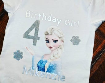 Elsa Birthday Shirt