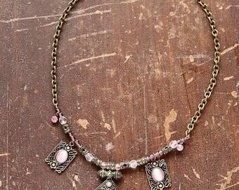Romantic style necklace