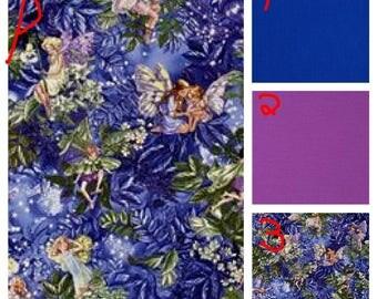 Night Flower Faeries - Teen/Adult Cotton Weighted Blanket