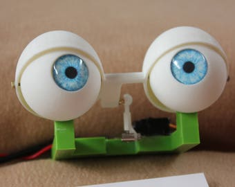 Animatronic Printed Blinking Eyes for Puppets.