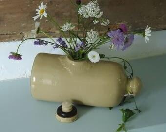 Stoneware water bottle/foot warmer