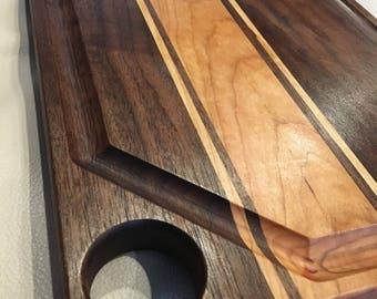 Walnut, Cherry, and Maple Cutting Board