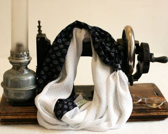 """Snood double """"Annette"""" by Violette and Grenadine"""
