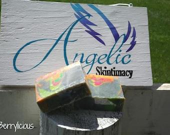 Berrylicious Goat's milk soap
