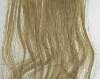 "Ash Blonde Remy human hair durable tape in hair extensions 10 pieces 21"" 22 inches tape-in highlight streaks"