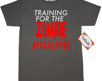 Training for the Zombie Apocalypse T-Shirt by Inktastic