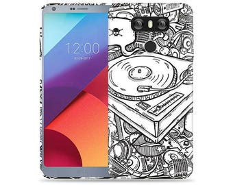 Lg G6 Case #DJ Design Hard Phone Case
