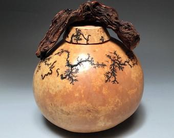 Biodegradable Urn - Natural Gourd Urn - Urn For Ashes
