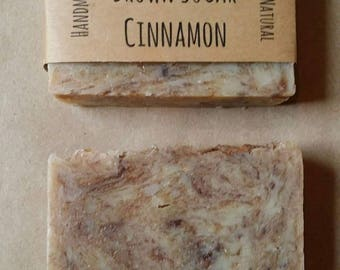 SAMPLE ** Brown Sugar + Cinnamon - Handmade All Natural Soap