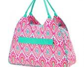 Beechy Keen Beach Tote Bag, Monogrammed