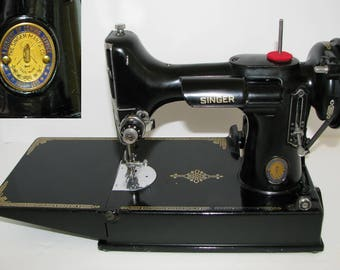 Singer  221 CENTENNIAL Featherweight Sewing Machine- Anniversary Edition!