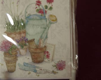 Pack of 3 Garden Pots  Just to Say Notelets