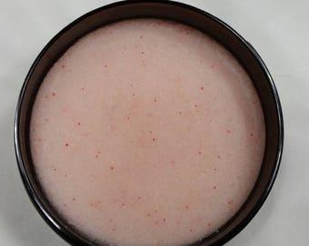 Elizabeth Kim Collection  Blushing Berries & Aloe Sugar Scrub / 8 oz / Exfoliating / Sugar Scrub / Lather Up Naturally